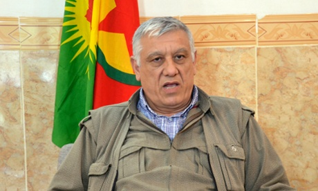 Bayik said the terrorist label was a 'great injustice' and that the PKK's struggle against the 'savagery' of Isis proved it was undeserved. Photograph: Reuters