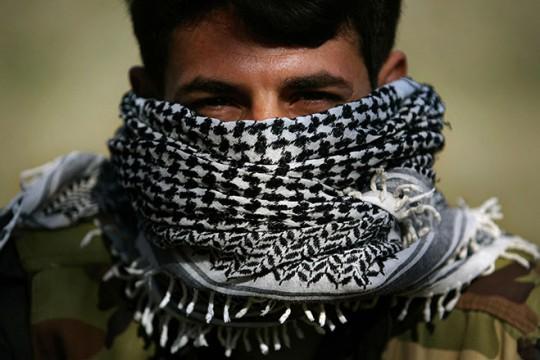 A PKK guerilla in the mountains of northern Iraq's Kurdish autonomous region.