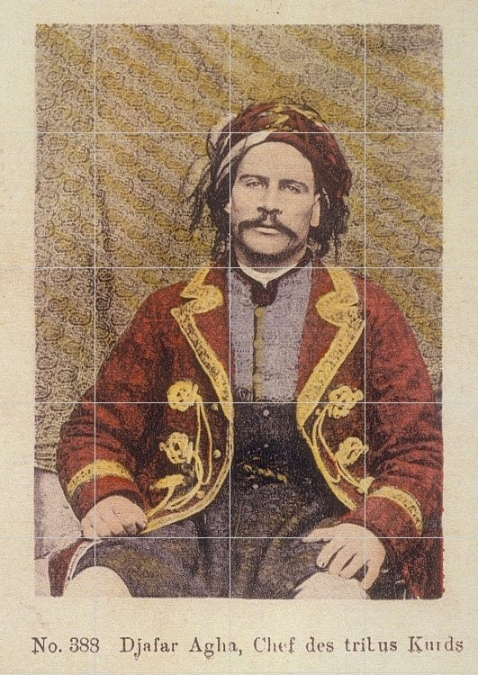 Cafer Axa birayê mezin ê Simko -Pierre de Gigord 1910,