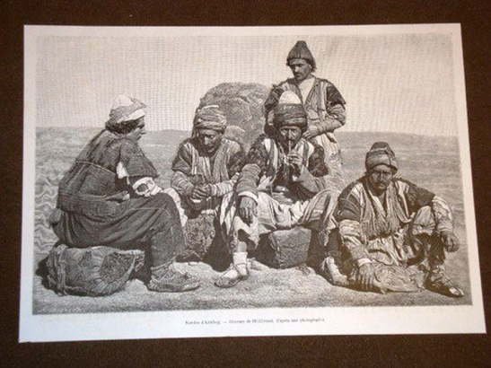 Kurdish Field Workers - Pale, 1901