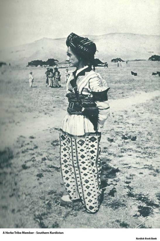 A Herke Tribe member, Sothern Kurdistan, 1959
