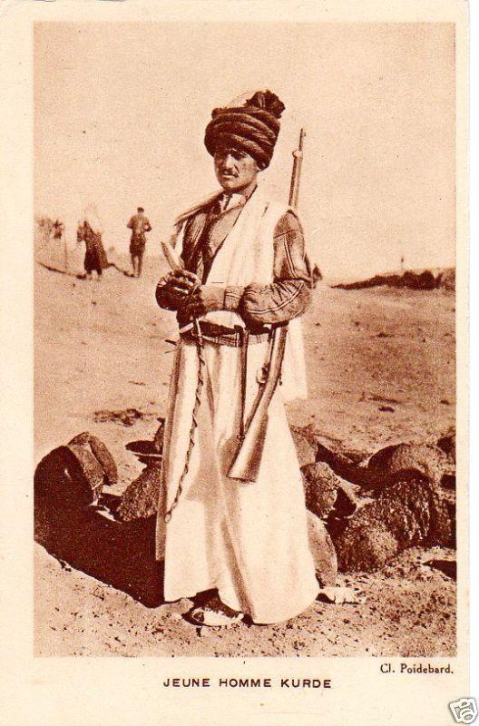 Je Une Homme Kurde (Western Kurdistan - Syria 1945)