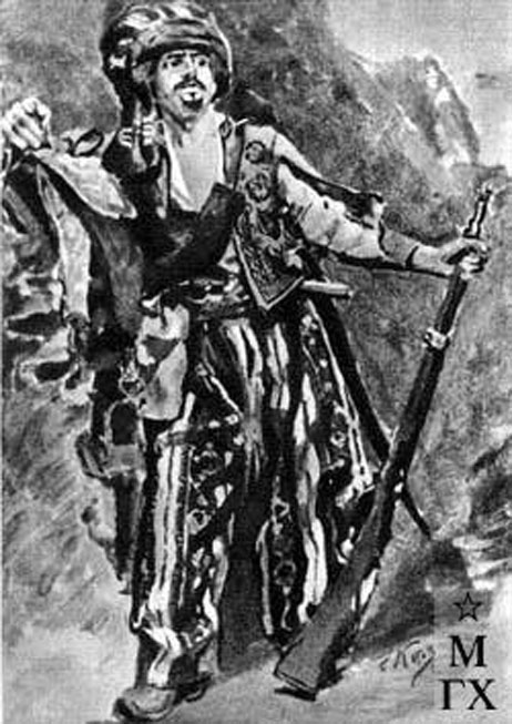 Katov Pytor Îvanovîç 1915 gravûr