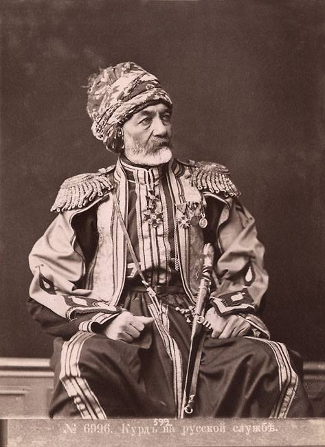 Kurdish General Jafar Aga 1806-1878 Caucasus