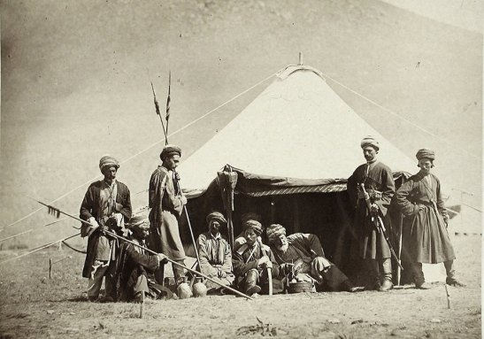 Kurdish Soldiers, 1877, Caucasus