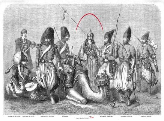 Kurd Militia, 1857