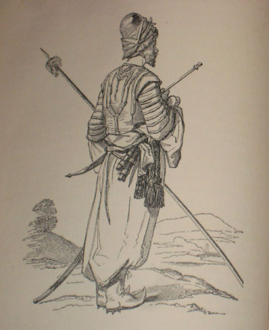 Kurd, Native of Kurdistan, 1888