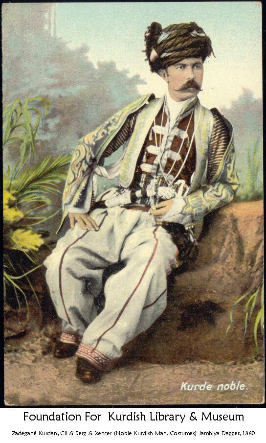 Kurdish Noble Mûsa Beg - Serokê Êla Motkan