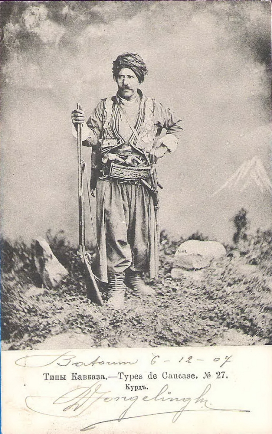 Kurds of Caucasus, Photo from 6.12.1907