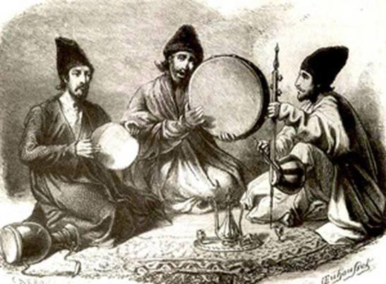 Kurdish Muzicians 1890