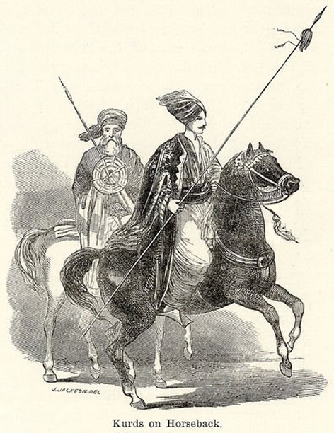 Kurdish Rider 1800