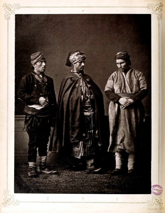 There Kurds; two lords and servant, from Wêranshar (Viransehir) Northern Kurdistan